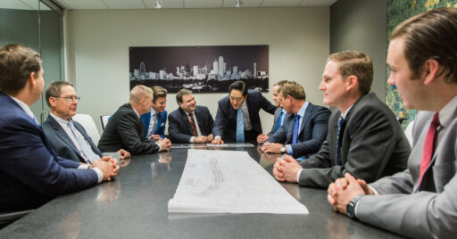 Lee & Associates Meet the Team Group Photo | Meet our team of dedication commercial real estate brokers in Dallas Fort Worth.