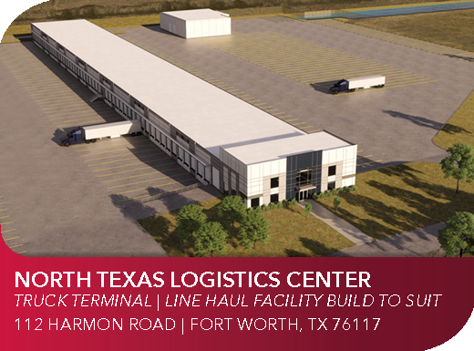 Line Hual Facility, Truck Terminal, Build to Suit in Alliance Texas