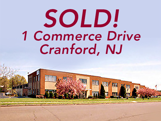 Sale One Commerce Drive Cranford NJ