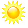 It is forcast to be Clear at 11:00 PM PDT on October 02, 2014