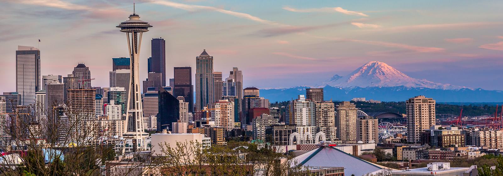 Seattle, Washington skyline from Queen Anne