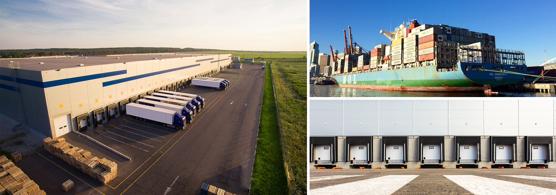Industrial Images Building, Loading Doors, Shipping