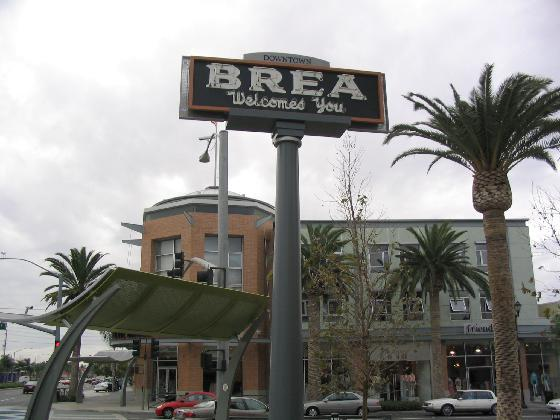 Brea Population Growth