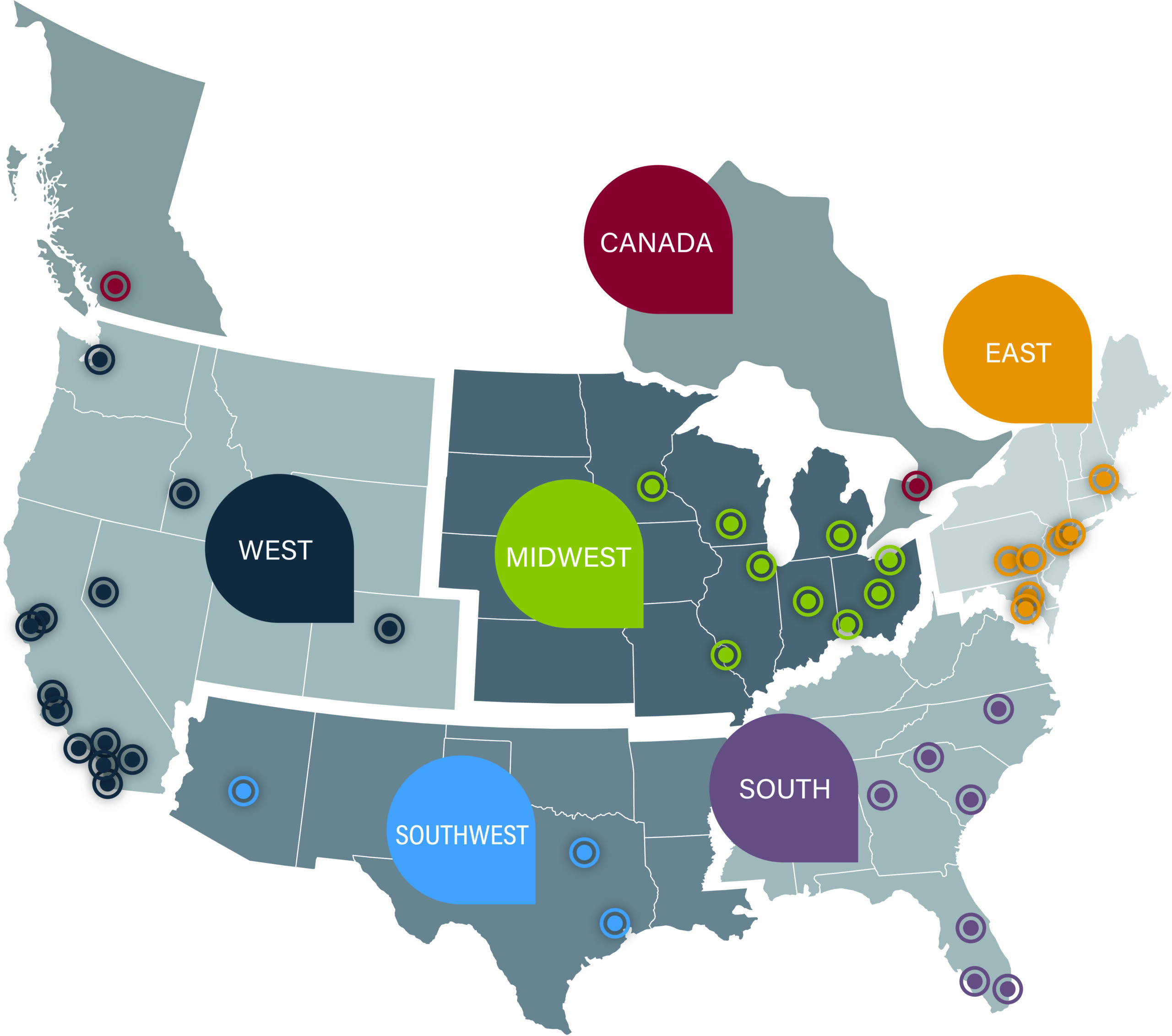 Lee & Associates Corporate_Office Map
