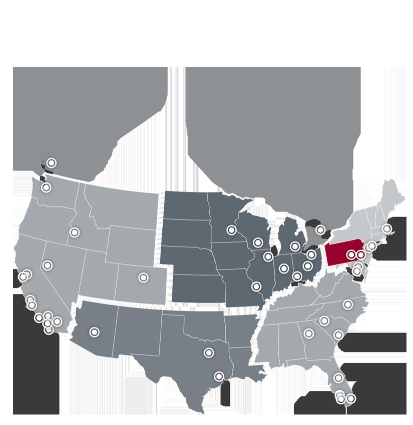 Office Locator Map