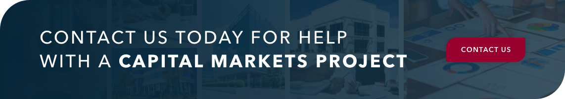 Contact us today for help with a capital markets project