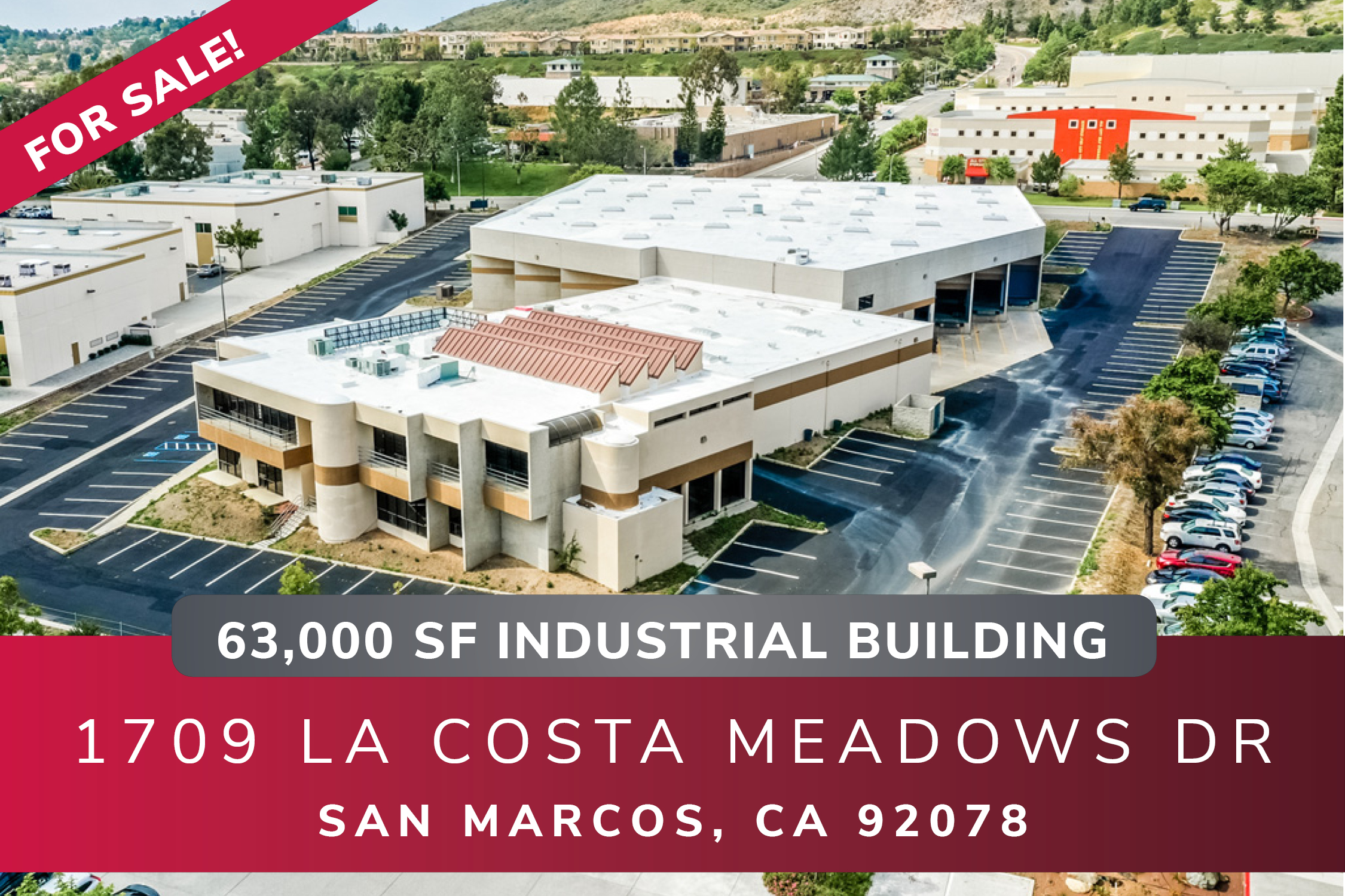 San Marcos Industrial Building For Sale