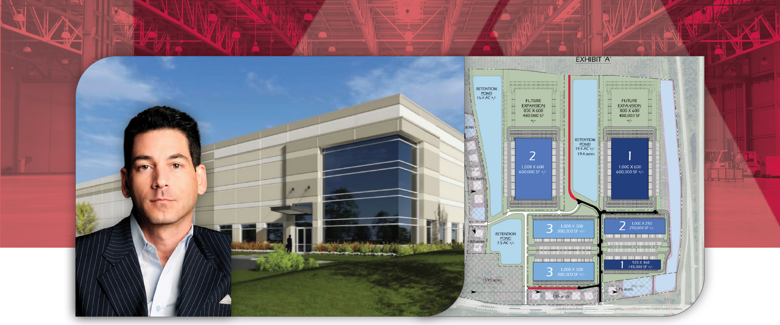 Sansone Group Awarded Contract to Purchase 300 AC for 3.2 Million SF Class A Industrial Project