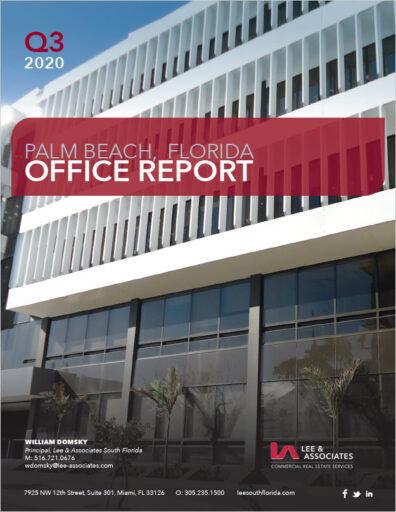 William Domsky - Palm Beach Office Report