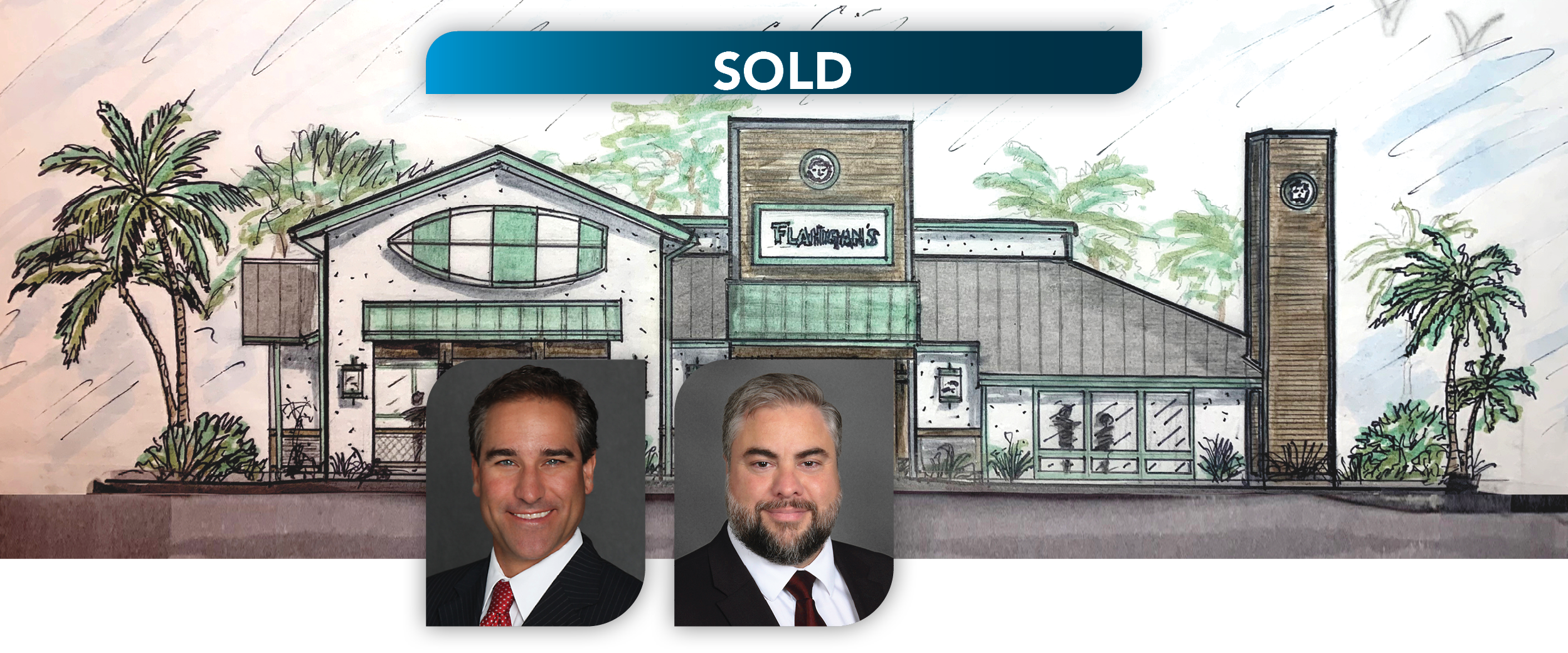 Lee & Associates South Florida Announces the Sale of Flanigan's New Sunrise Location on W Sunrise Blvd for $4.8MM