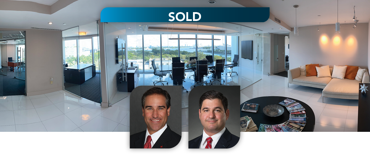 Lee & Associates South Florida Announces Class A 8th Floor Office Condo Portfolio at 900 Biscayne Closes for $2.62MM in Downtown Miami