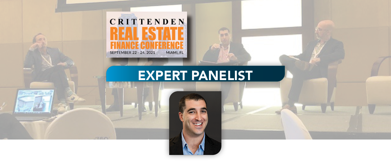 Lee & Associates South Florida Principal and Capital Markets Specialist, Seth Denison, Speaks as Expert Panelist at 2021 Crittenden Real Estate Finance Conference