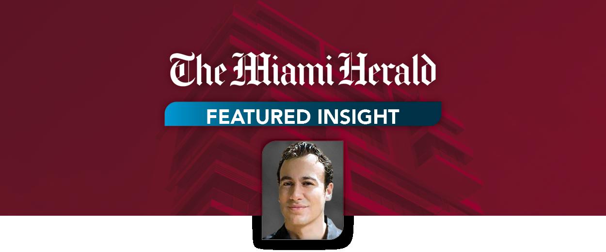 Matthew Jacocks Discusses Miami Hospitality Market in Miami Herald