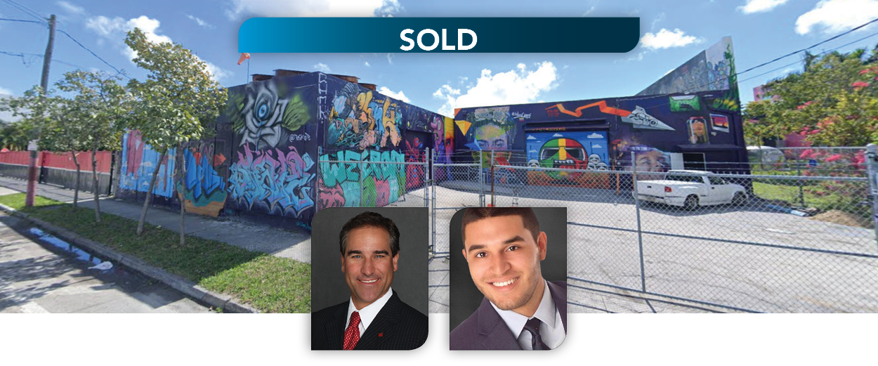 Lee & Associates South Florida Announces the Sale of a Two Parcel Commercial Assemblage for $4.39M in Miami's Wynwood Arts District