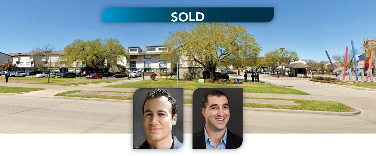 Lee & Associates South Florida Principals, Matthew Jacocks and Seth Denison, Represent Miami-Based GDF Properties with Acquisition of 569-Unit Apartment Complex in Houston Texas