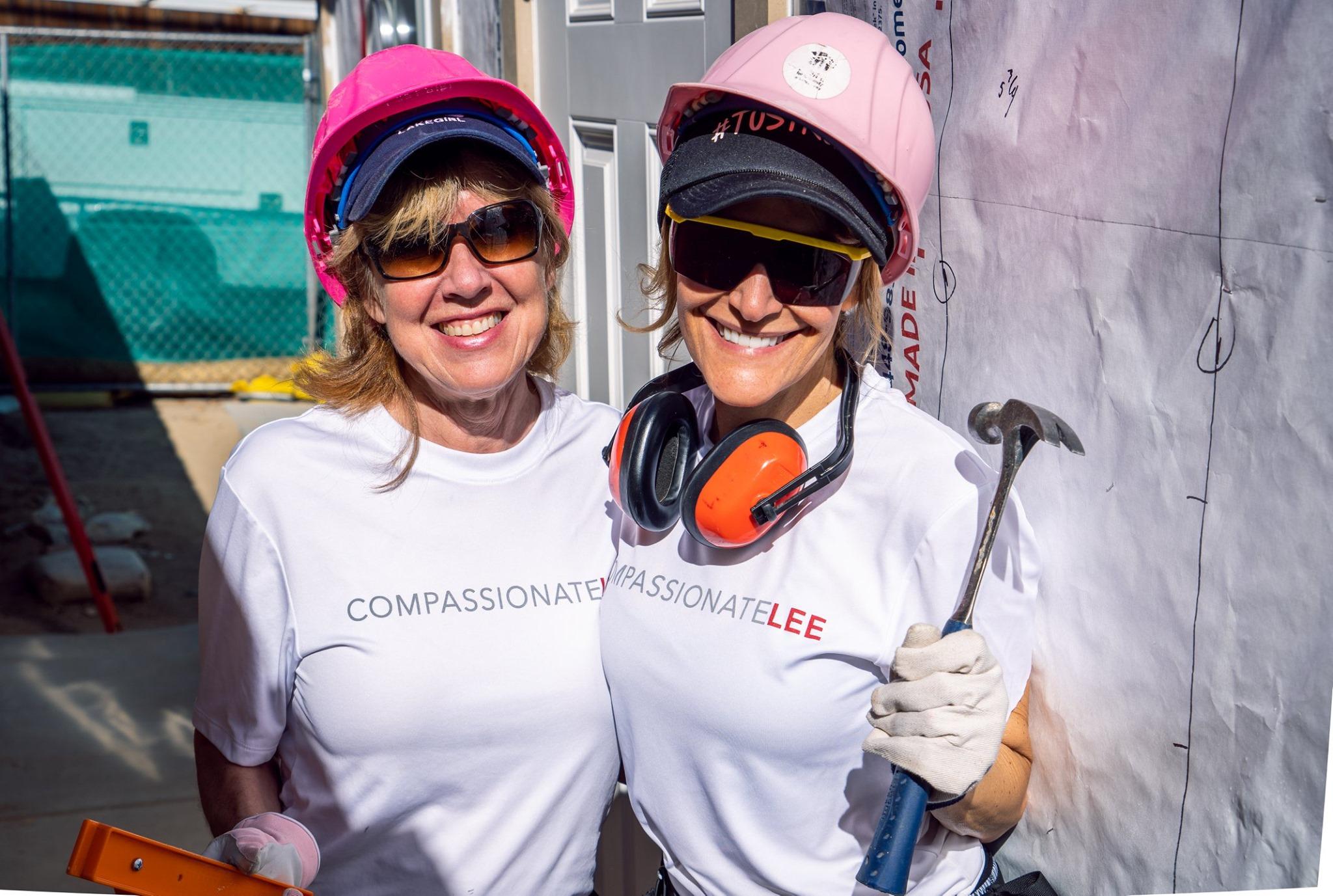 CompassionateLEE + Habitat for Humanity
