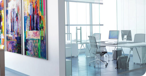Office Building Interior - Corporate Solutions